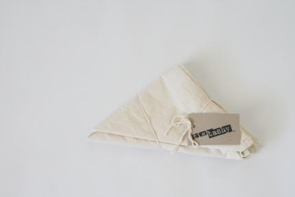 Organic Cotton Hemp napkin set of 4