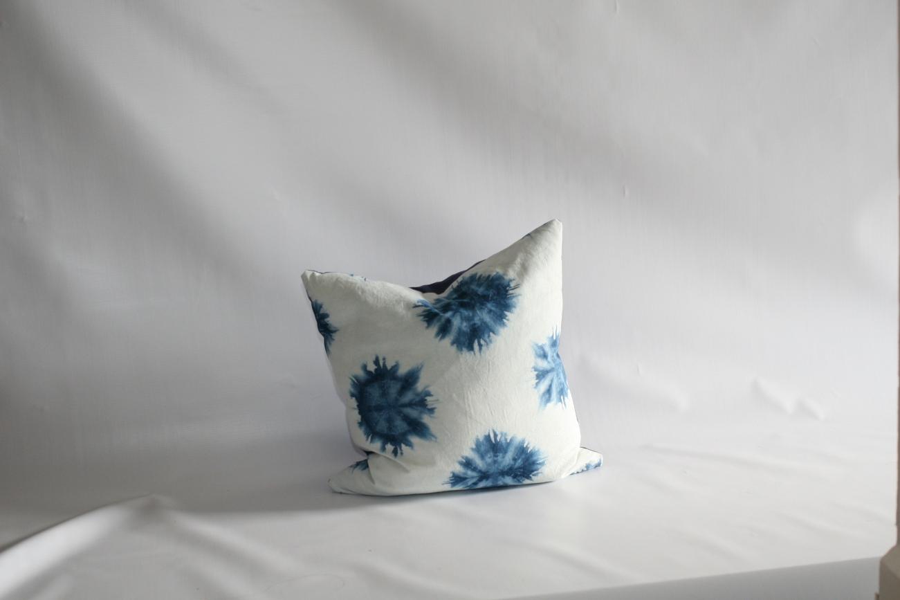 'Hello Darkness' cushion