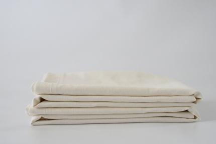Organic Cotton Hemp Natural White Pillow Case set