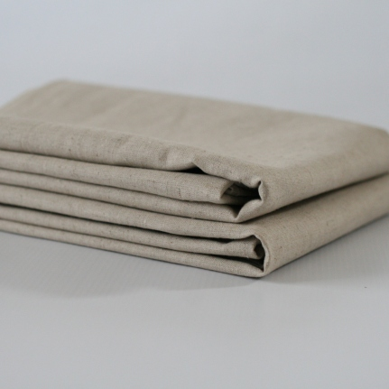 Organic Linen Unbleached Pillow Case set