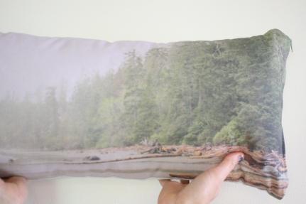 'Rainy Afternoon' Landscape cushion