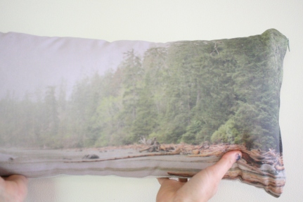 'Rainy Afternoon' Landscape cushion