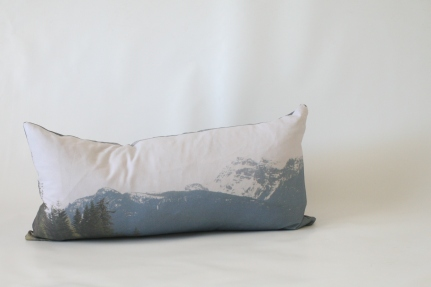 'Mountain Scenery' Landscape cushion