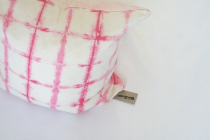 'Pretty in Pink' cushion